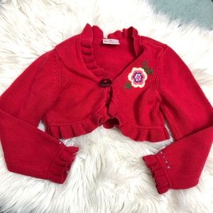 Hanna Andersson cropped cardigan size 110 (5)